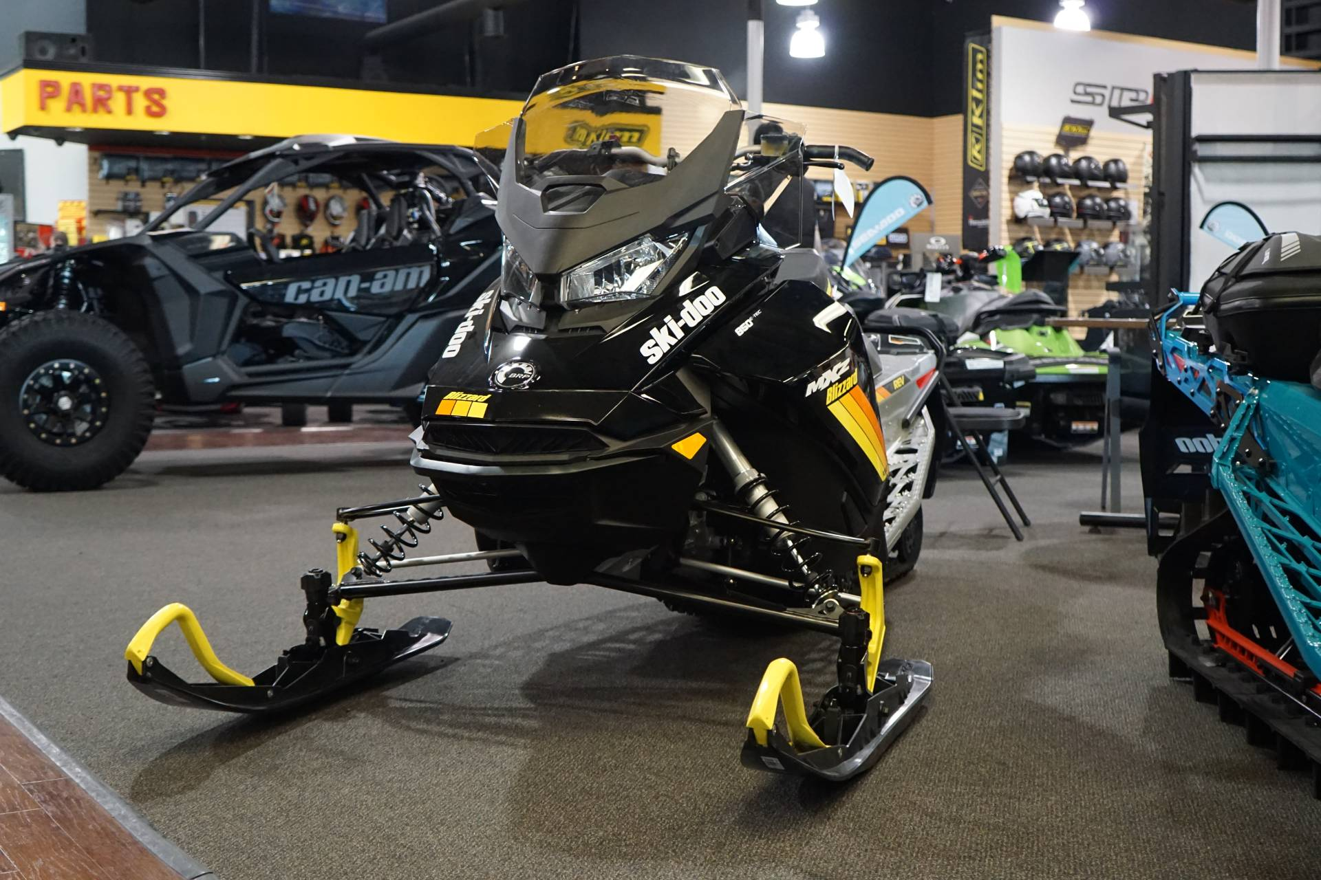 2019 Ski-Doo MXZ Blizzard 850 E-TEC in Elk Grove, California
