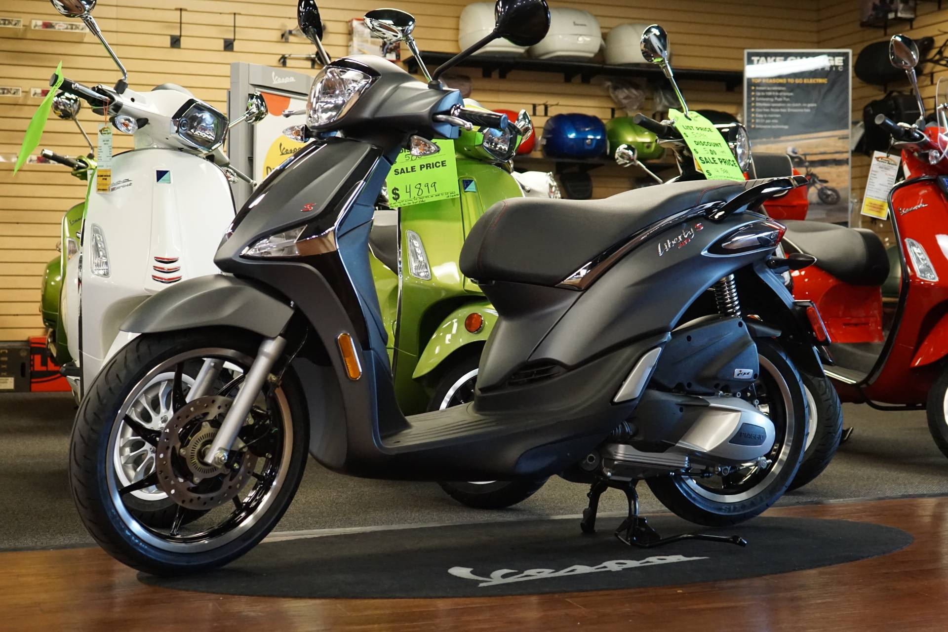 2019 Piaggio Liberty S 150 in Elk Grove, California