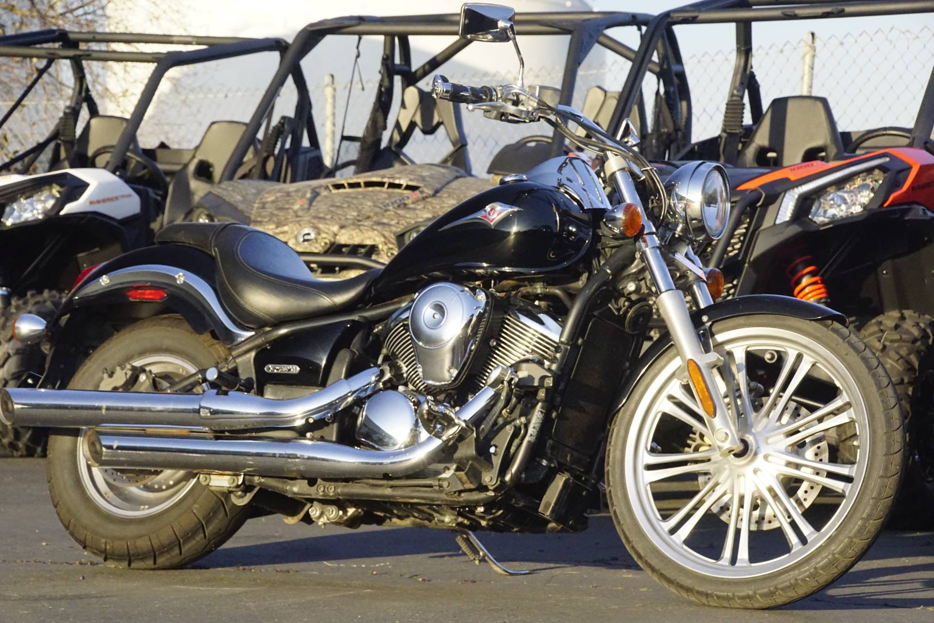 2007 Kawasaki Vulcan® 900 Custom in Elk Grove, California - Photo 3