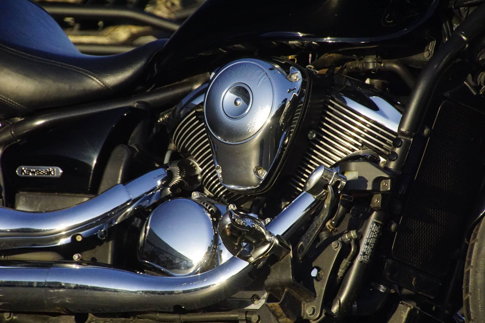 2007 Kawasaki Vulcan® 900 Custom in Elk Grove, California - Photo 5