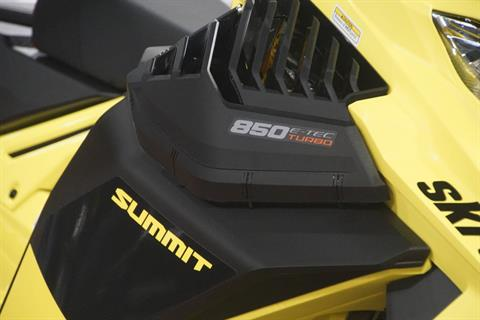 2020 Ski-Doo Summit 165 850 E-TEC Turbo SHOT in Elk Grove, California - Photo 6