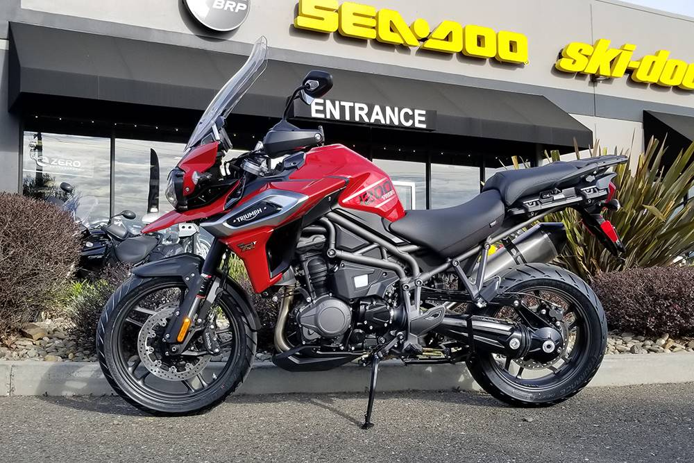 2018 Triumph Tiger 1200 XRt in Elk Grove, California
