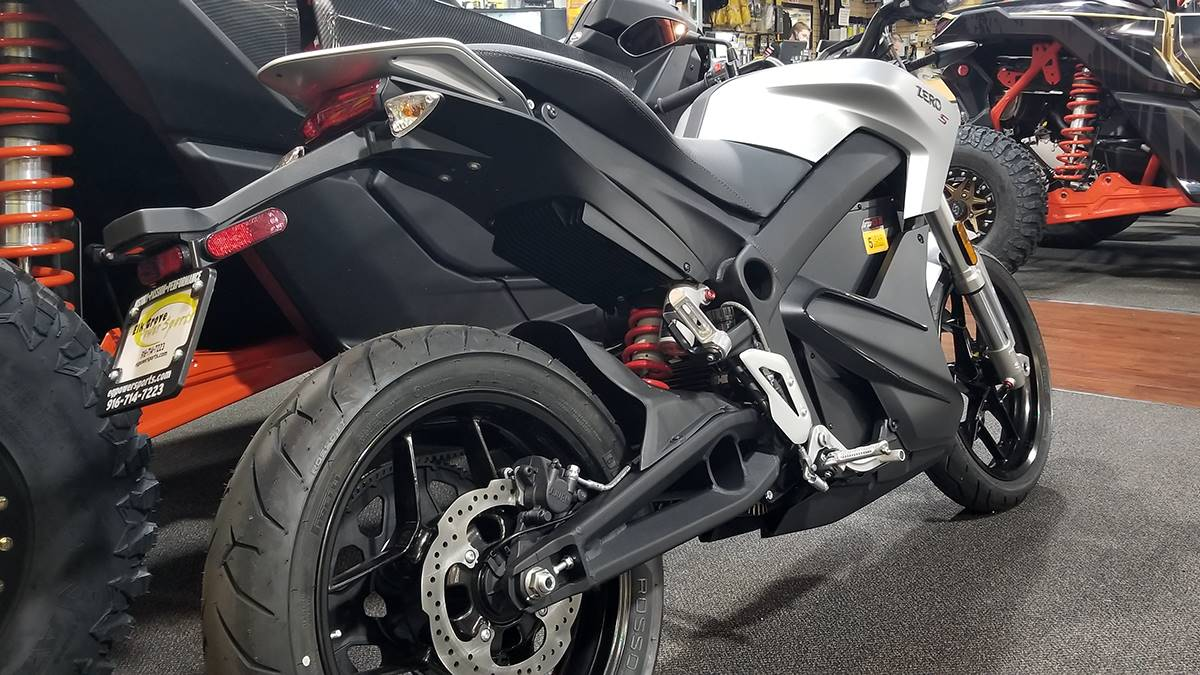 2018 Zero Motorcycles S ZF13.0 + Charge Tank in Elk Grove, California