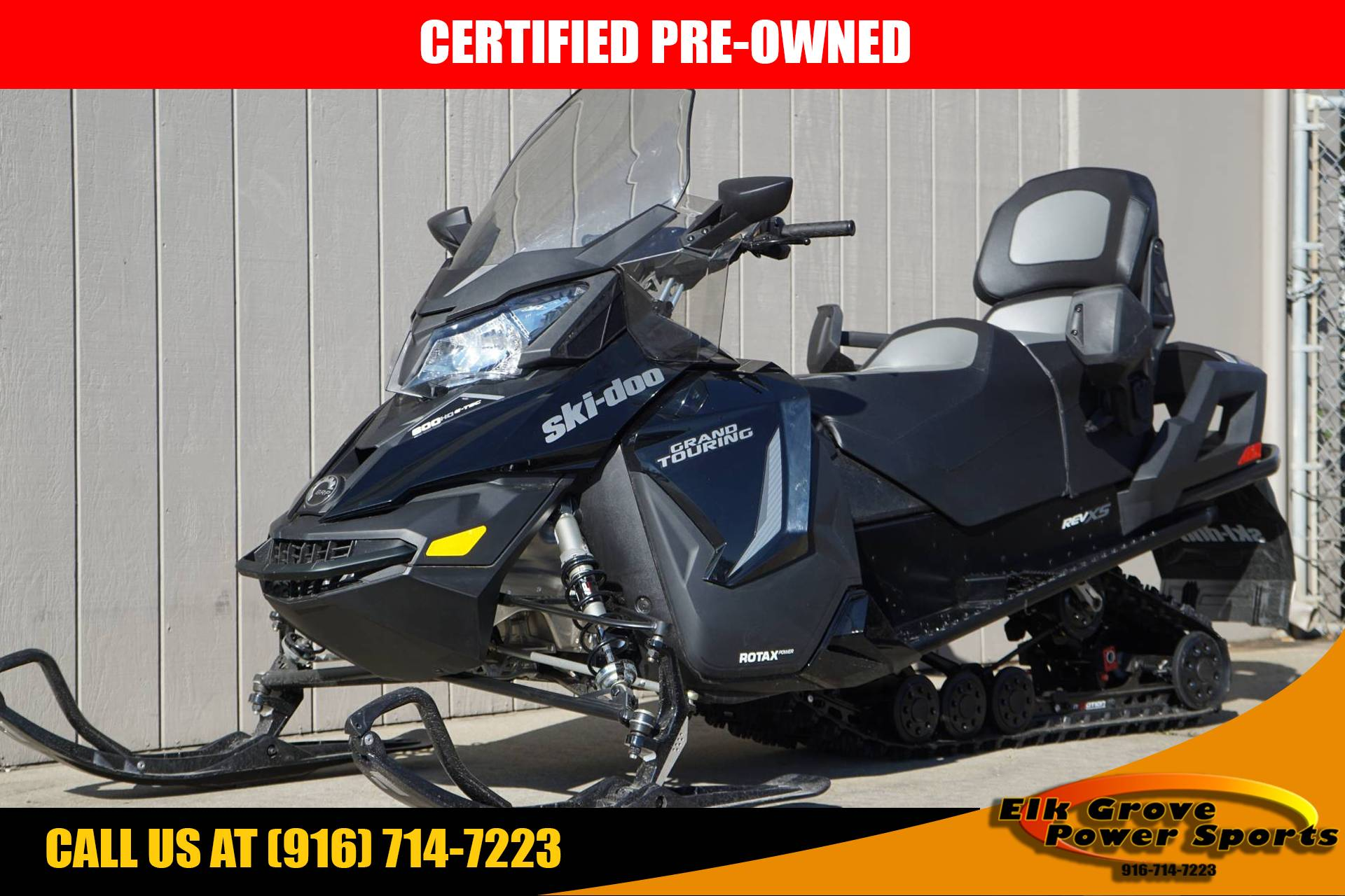 2018 Ski-Doo Grand Touring LE 600 HO E-TEC ES Ripsaw 1.25 STIS in Elk Grove, California - Photo 1