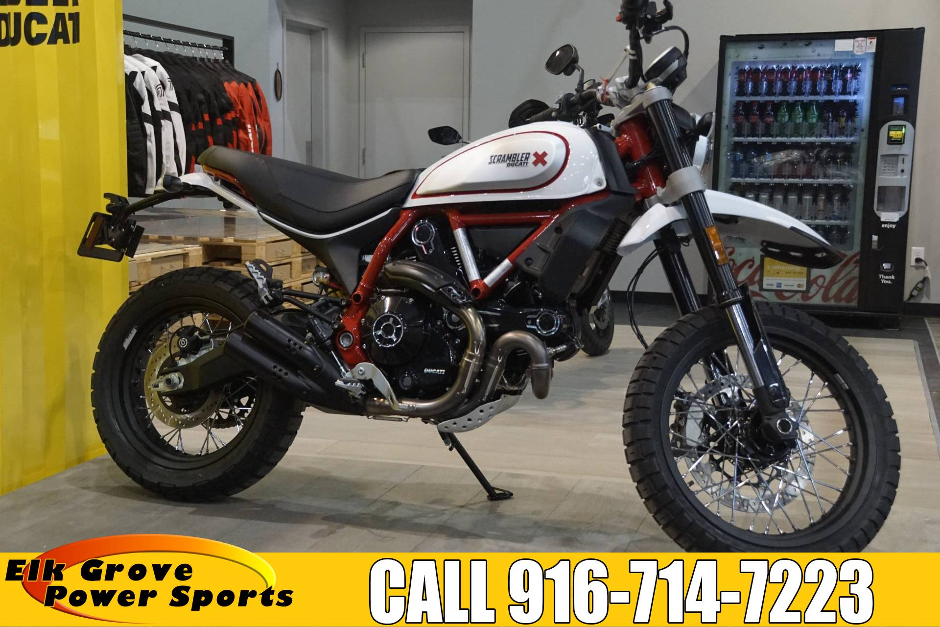 2020 Ducati Scrambler Desert Sled in Elk Grove, California - Photo 1