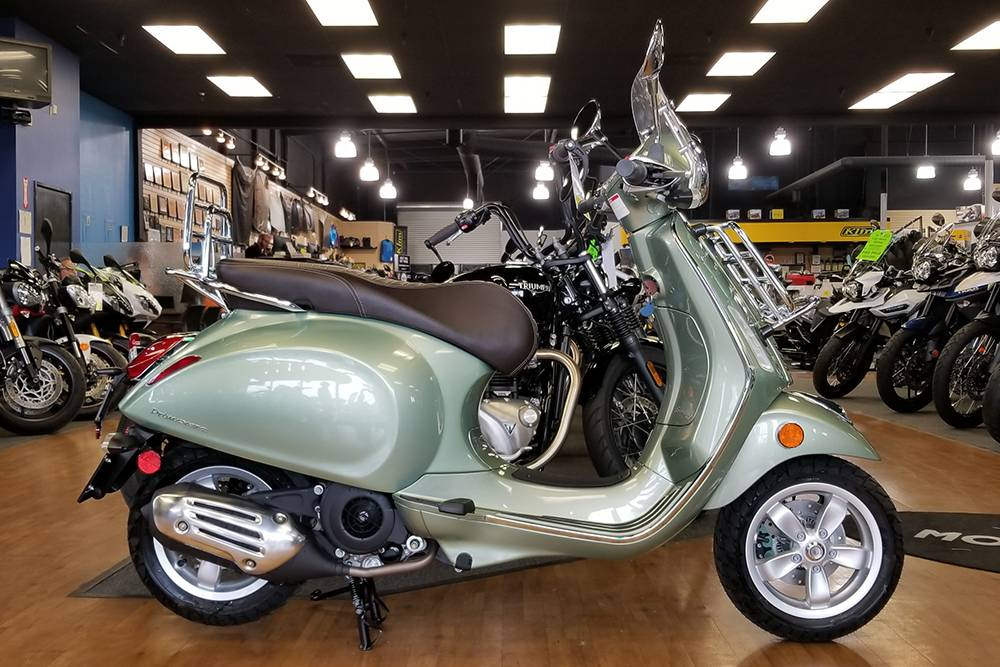 2018 Vespa Primavera 150 Touring in Elk Grove, California