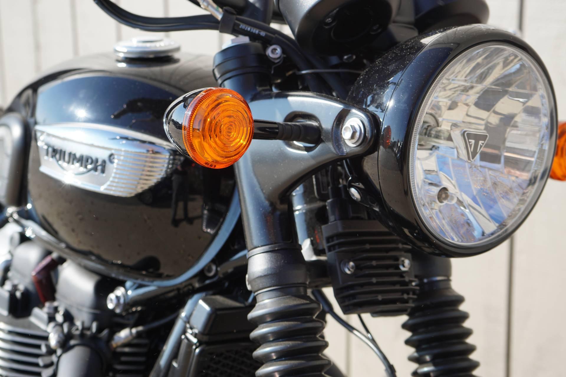 New 2018 Triumph Bonneville T100 Black Motorcycles In Elk Grove Ca