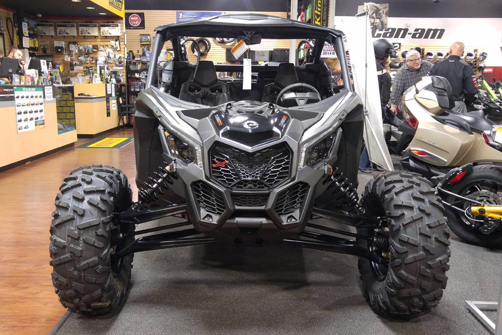 2018 Can-Am™ Maverick X3 X rs Turbo R 1