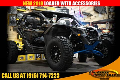 2018 Can-Am Maverick X3 X rs Turbo R in Elk Grove, California