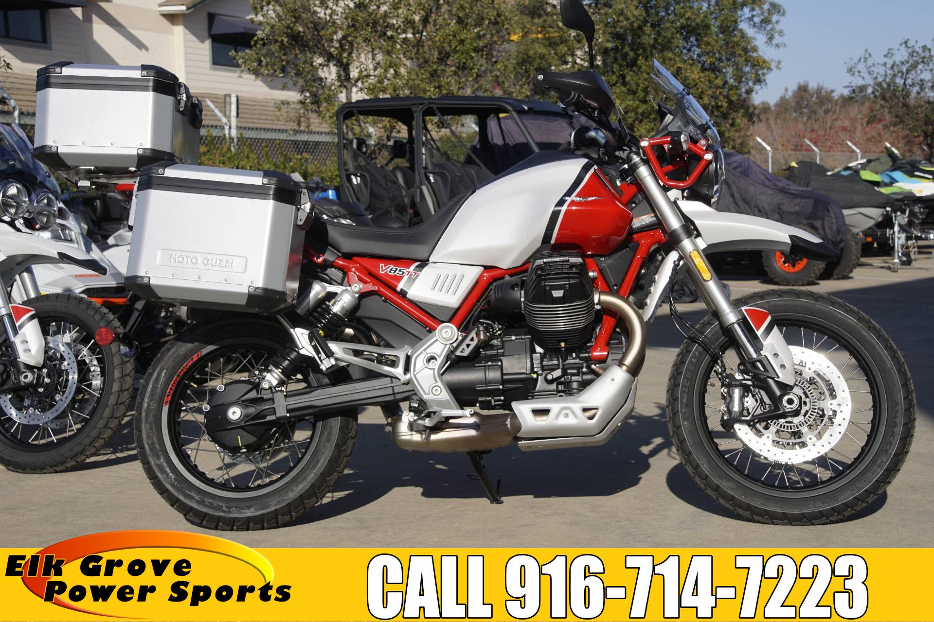 2020 Moto Guzzi V85 TT Adventure in Elk Grove, California - Photo 1