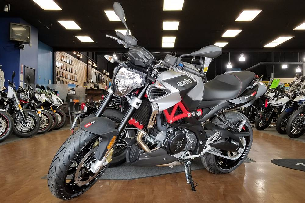 2018 Aprilia Shiver 900 in Elk Grove, California