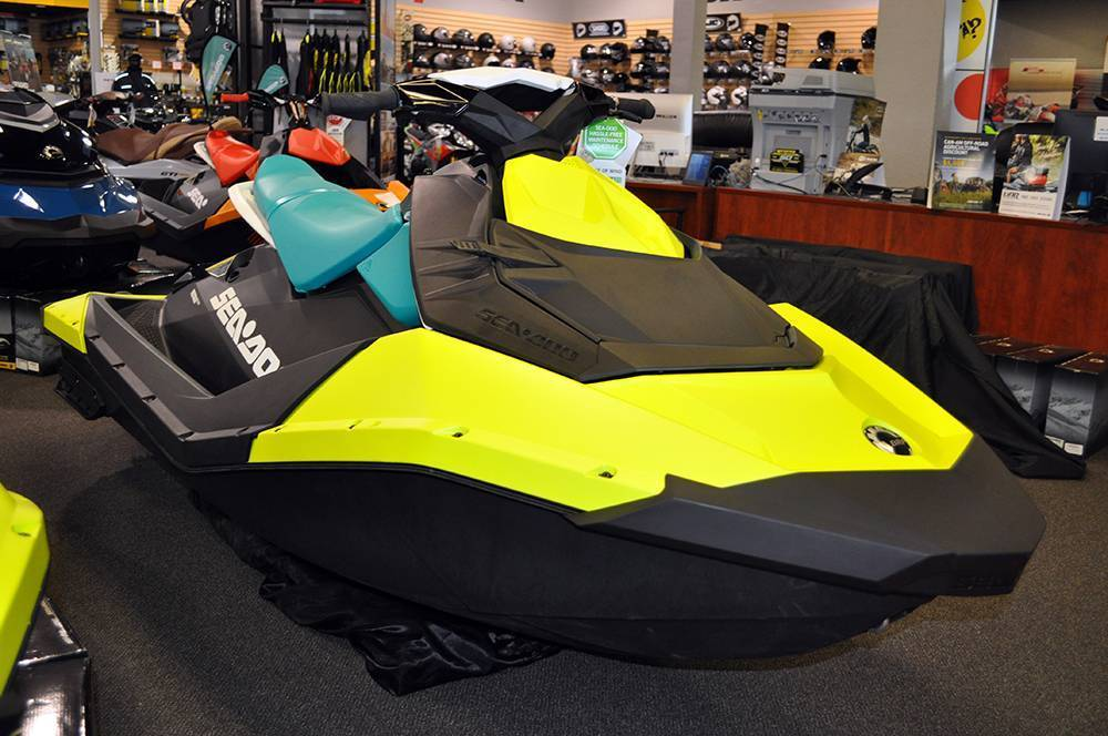 2018 Sea-Doo SPARK 2up 900 H.O. ACE iBR & Convenience Package Plus in Elk Grove, California