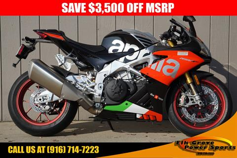 2018 Aprilia RSV4 RF in Elk Grove, California