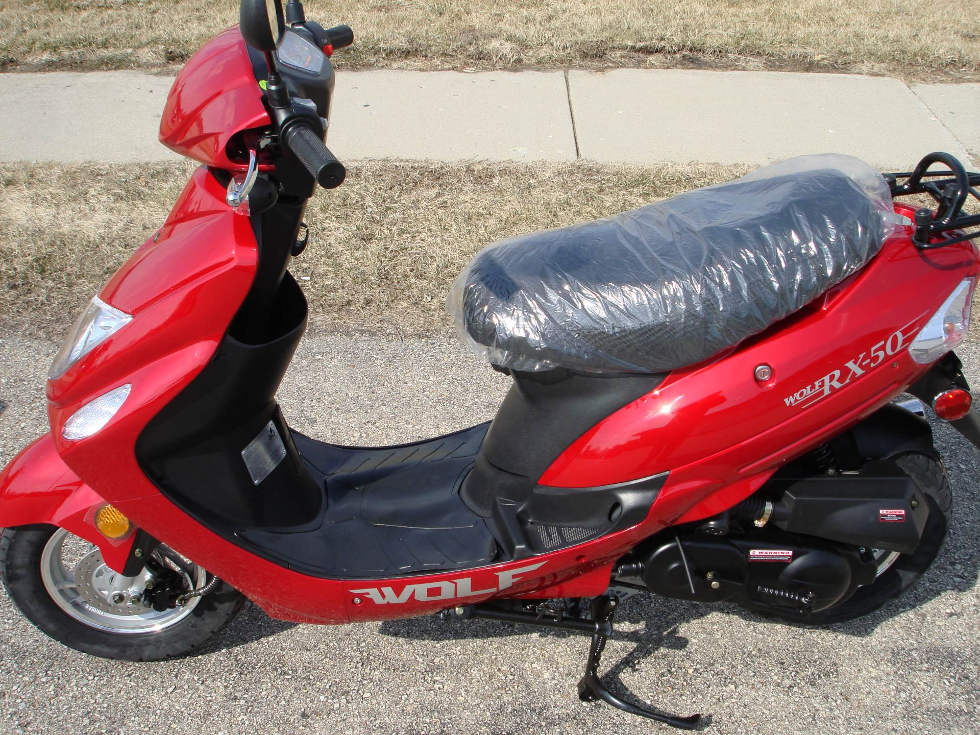 2017 Wolf Brand Scooters RX-50 in Elkhorn, Wisconsin