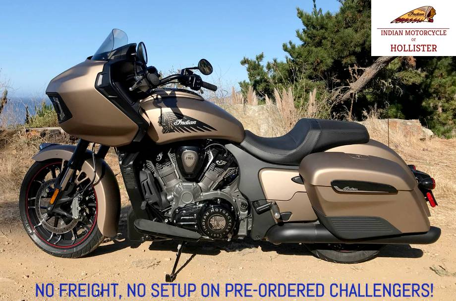 2020 Indian Challenger® Dark Horse® in Hollister, California - Photo 1
