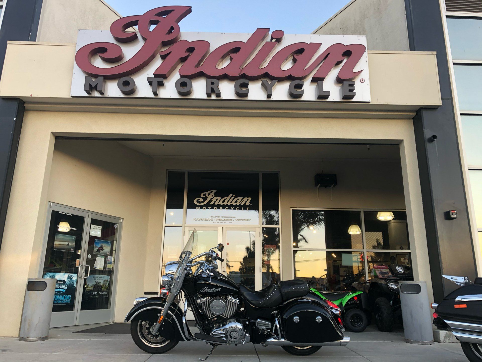 2017 Indian Springfield® in Hollister, California - Photo 1
