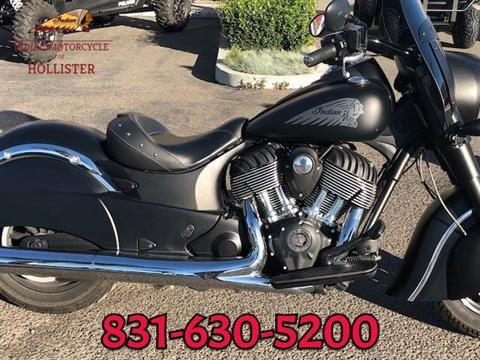 2016 Indian Chief Dark Horse® in Hollister, California