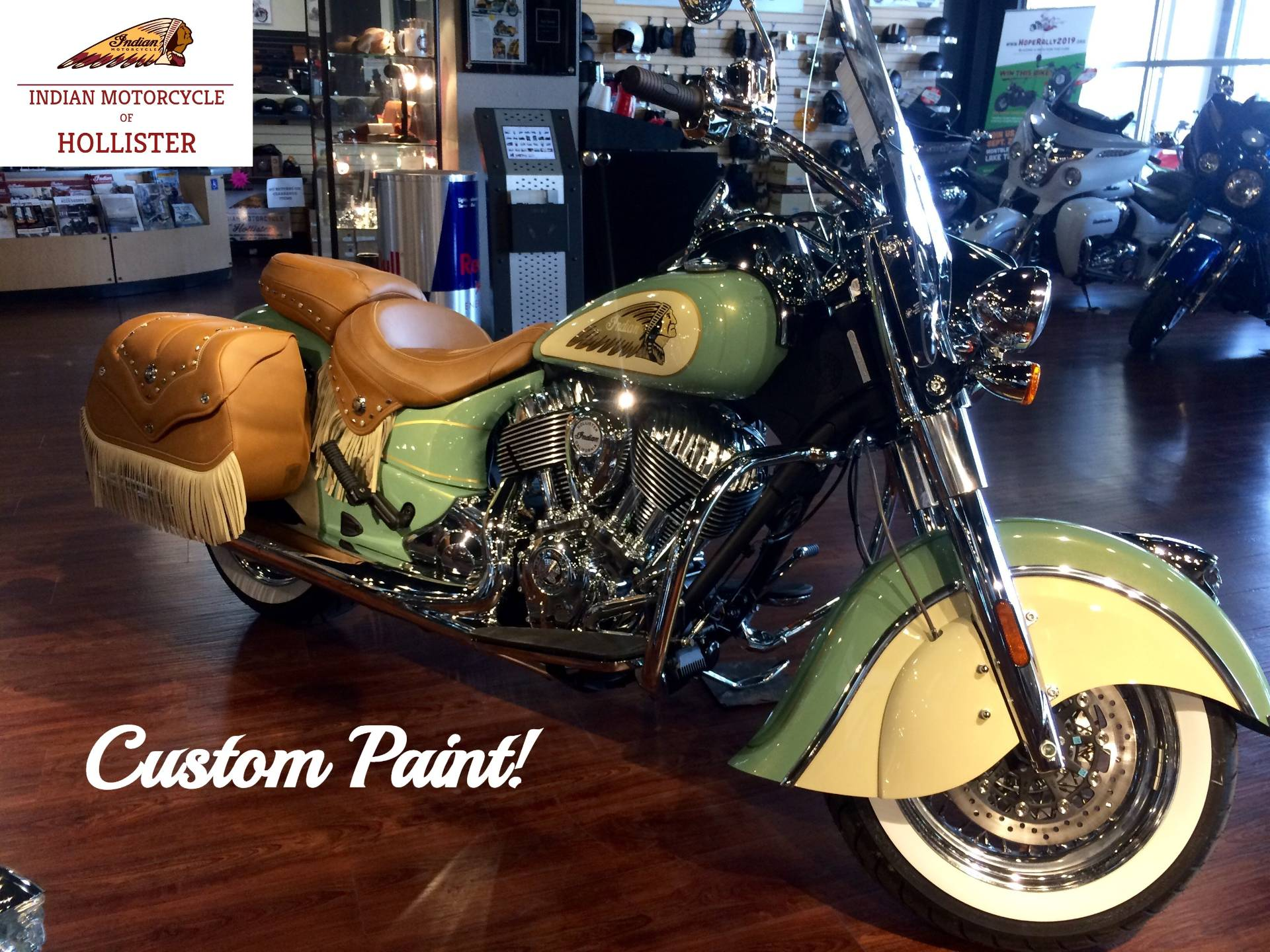 2019 Indian Chief® Vintage ABS in Hollister, California - Photo 3