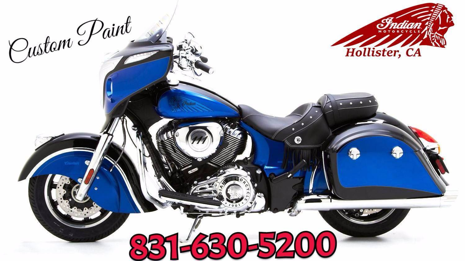 2019 Indian Chieftain® ABS in Hollister, California - Photo 3