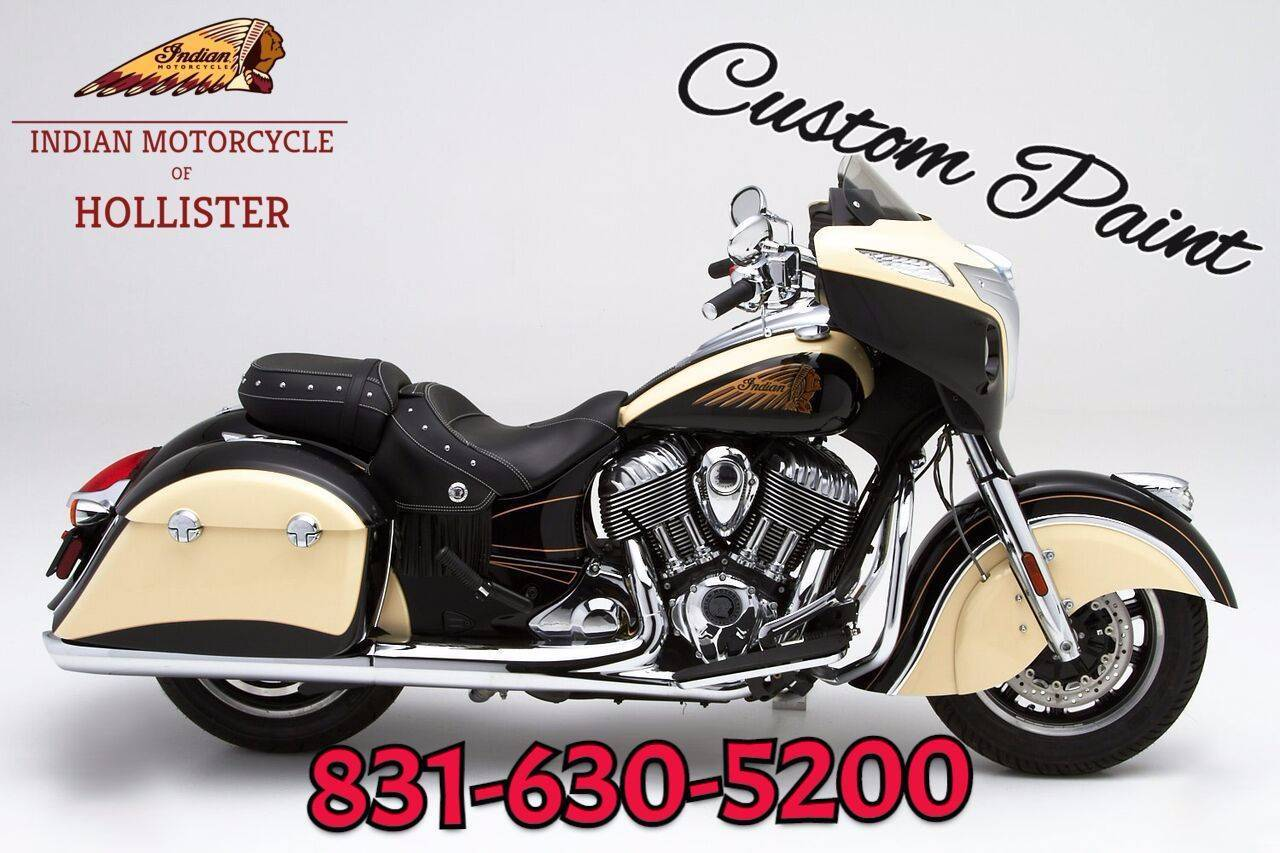 2020 Indian Chieftain® Classic in Hollister, California - Photo 3
