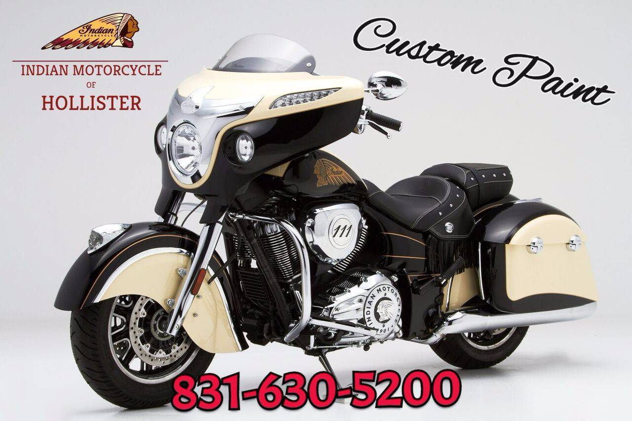 2020 Indian Chieftain® Classic in Hollister, California - Photo 1