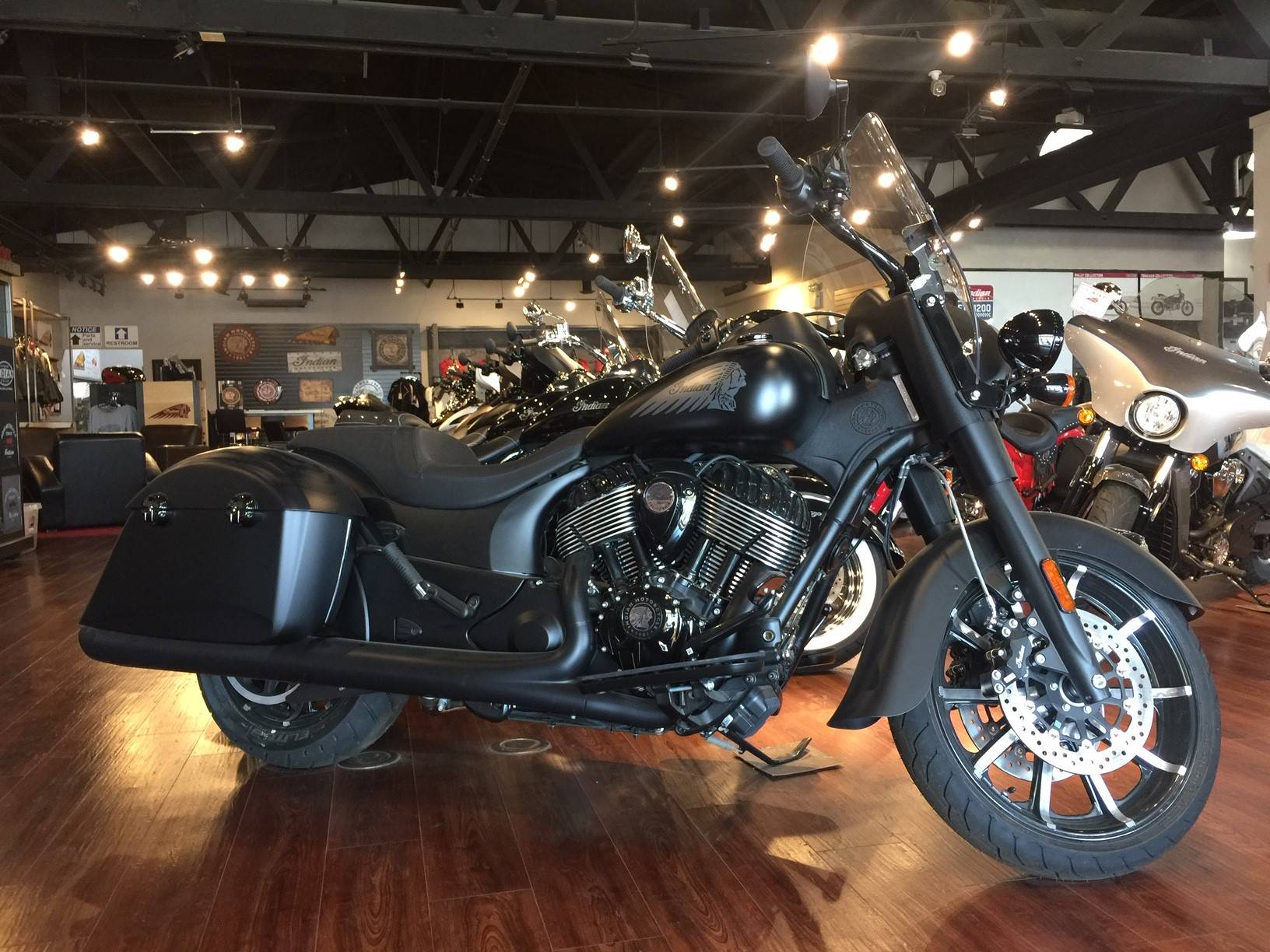 2019 Indian Springfield® Dark Horse® ABS in Hollister, California - Photo 2