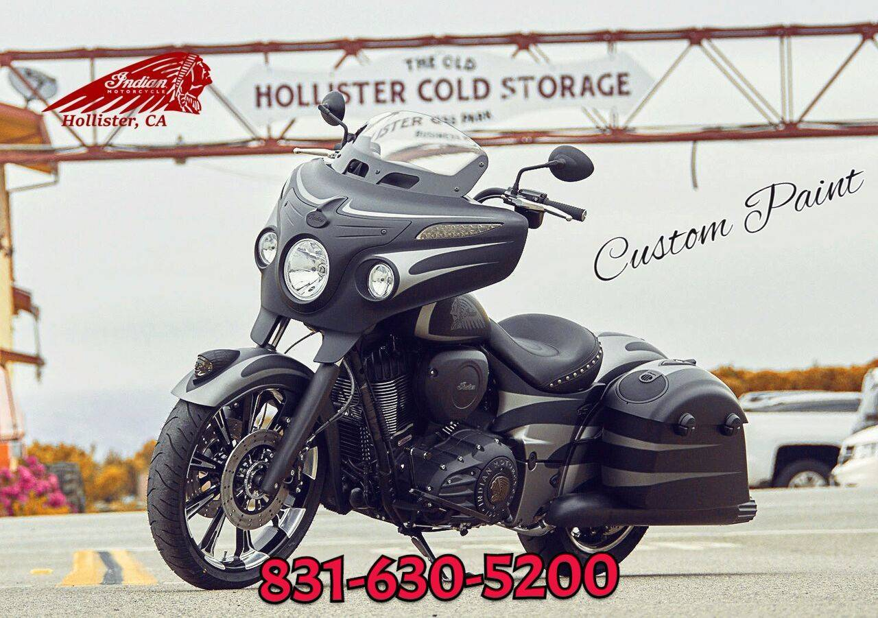 2016 Indian Chieftain Dark Horse in Hollister, California
