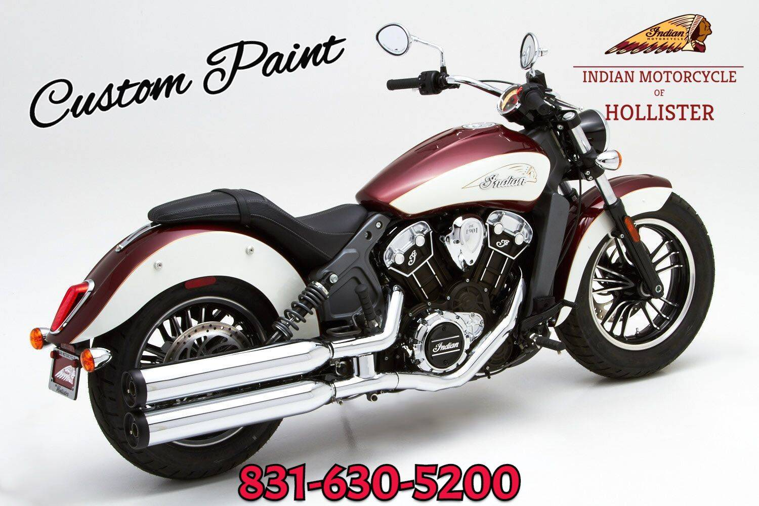2018 indian scout® motorcycles hollister california