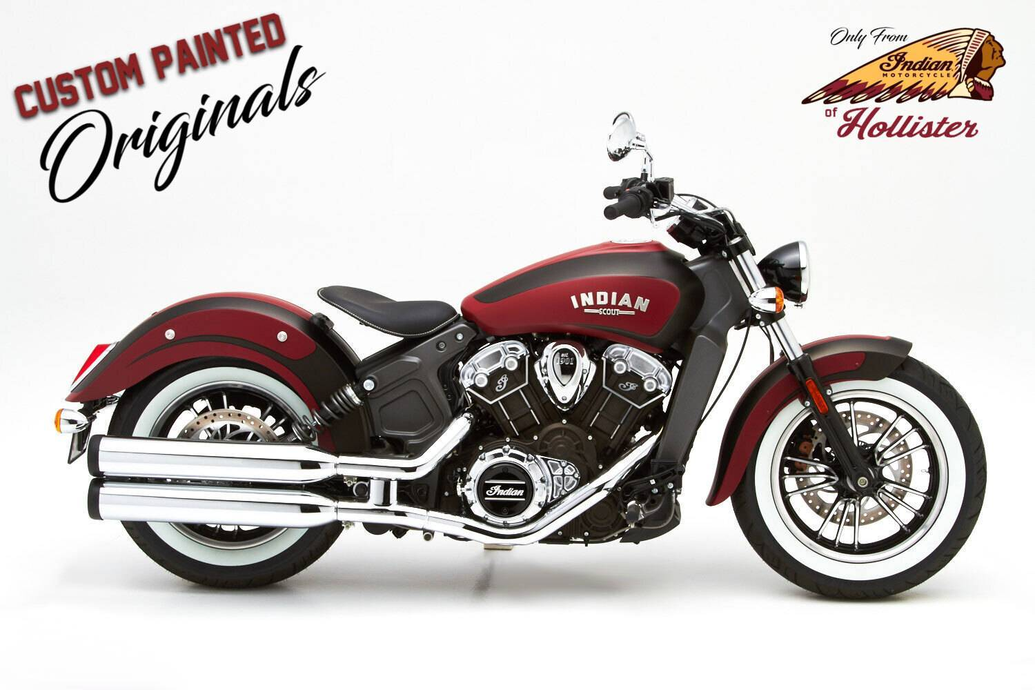 2021 Indian Scout® ABS in Hollister, California - Photo 4