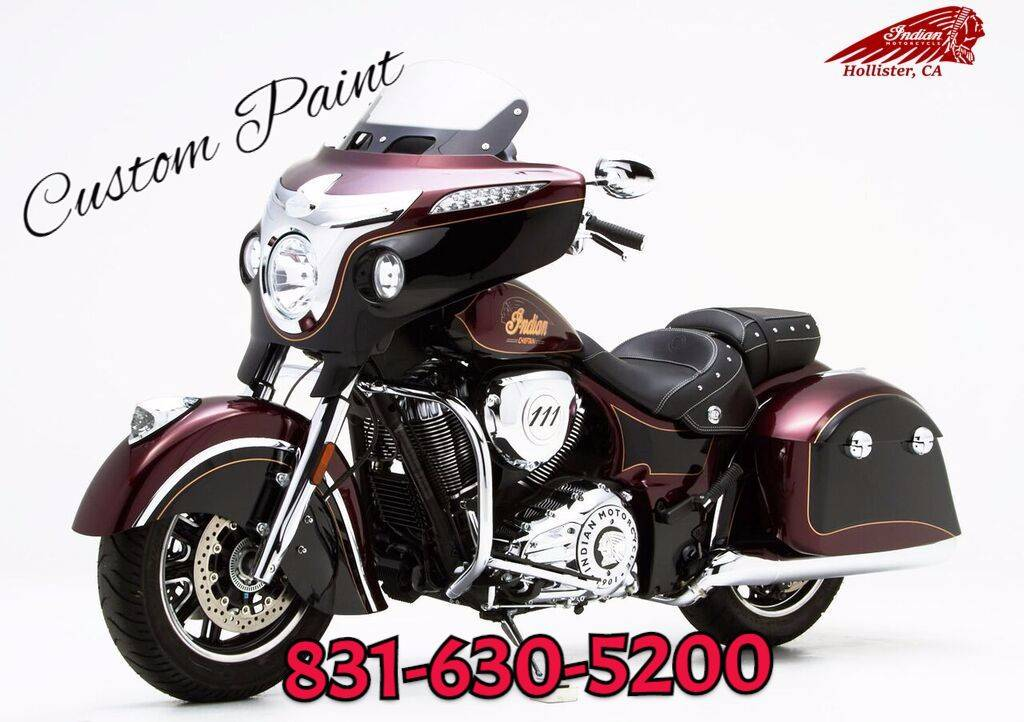 2017 Indian Chieftain for sale 903