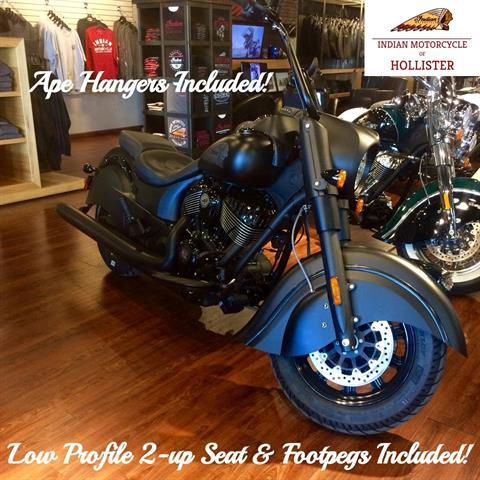 2019 Indian Chief Dark Horse® ABS in Hollister, California - Photo 1