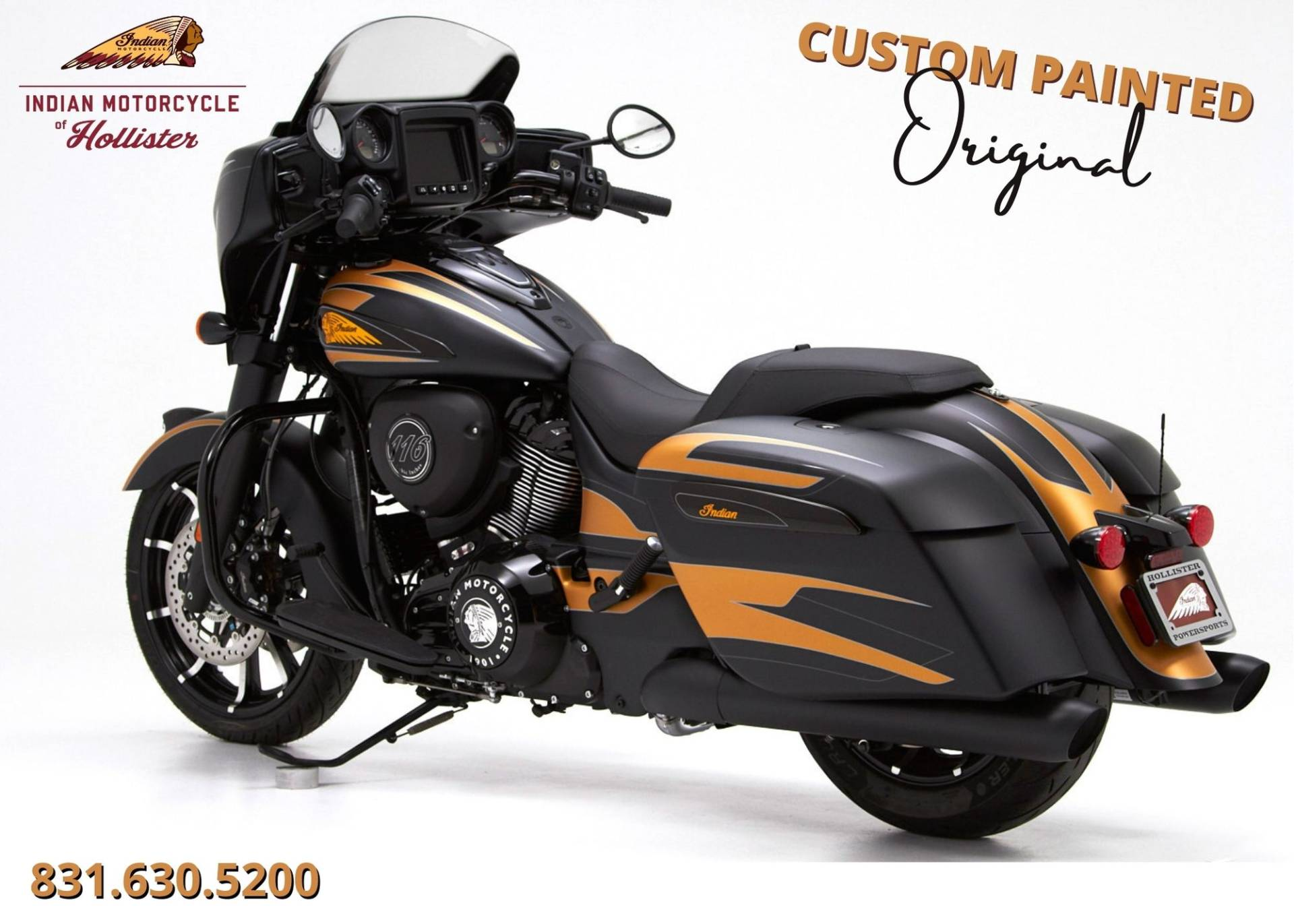 2021 Indian Chieftain® Dark Horse® in Hollister, California - Photo 3