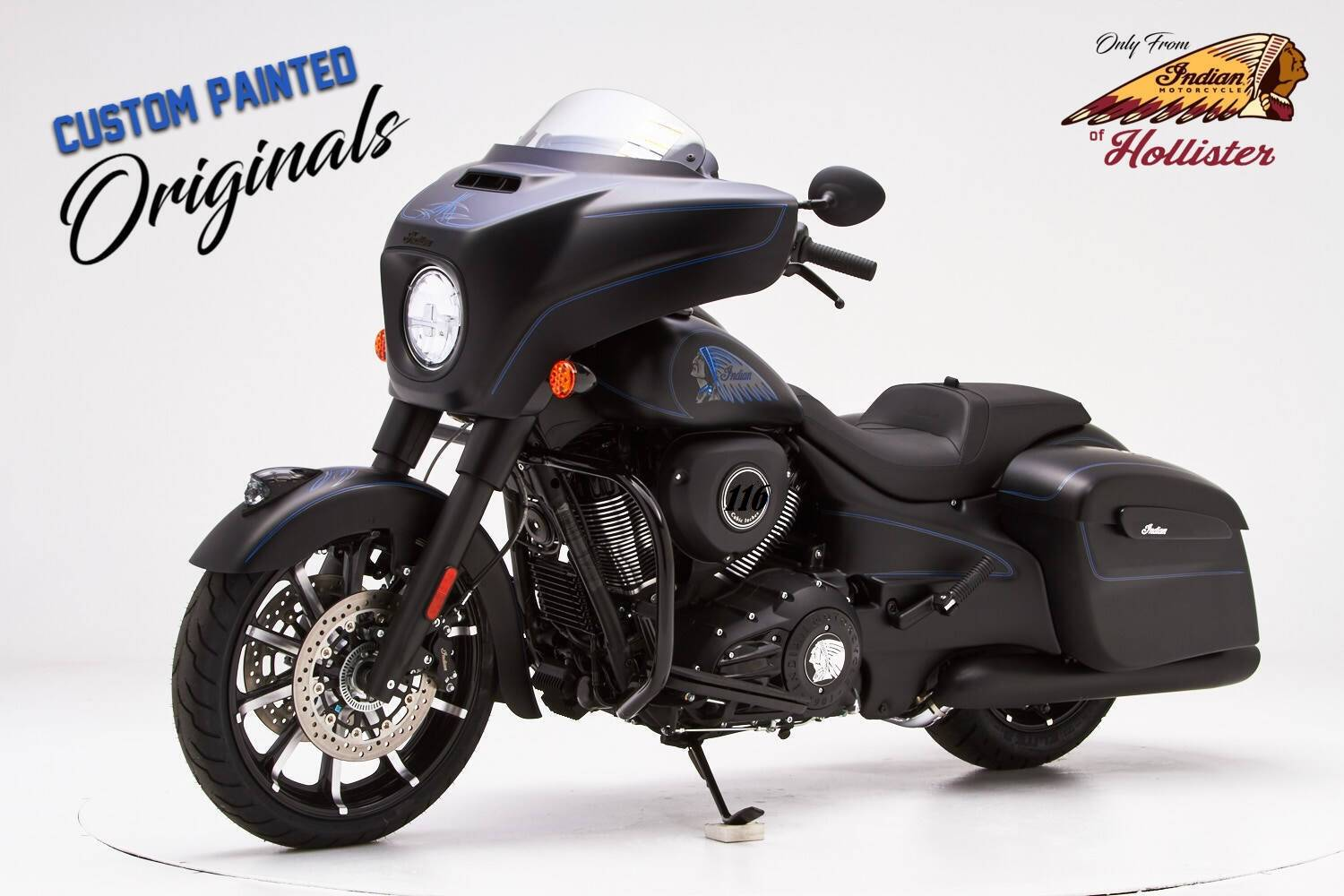 2020 Indian Chieftain® Dark Horse® in Hollister, California - Photo 4