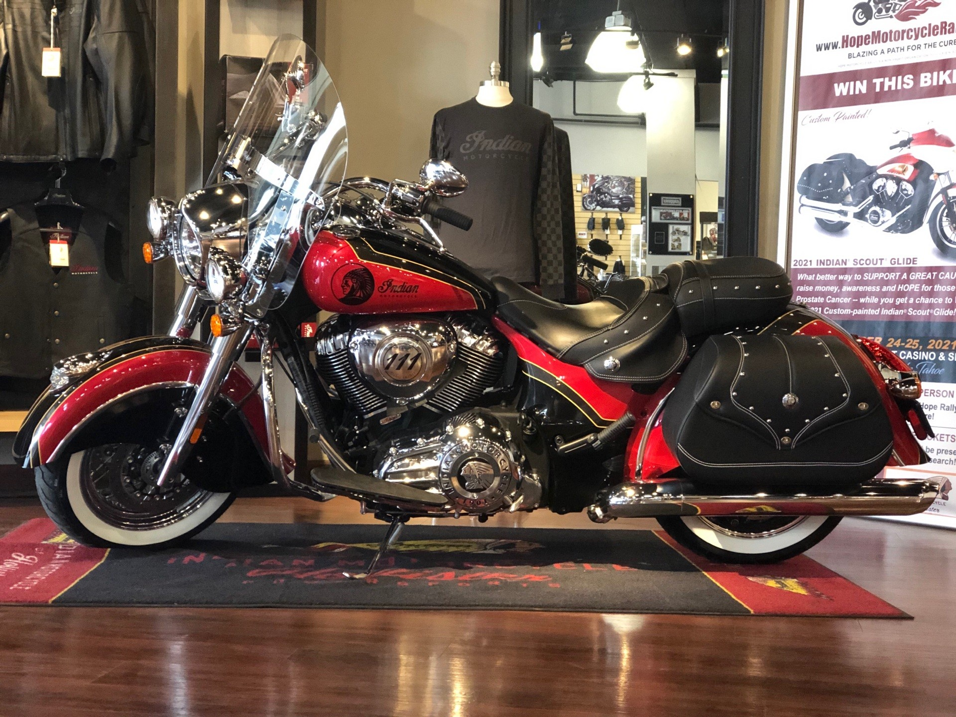 2021 Indian Vintage in Hollister, California - Photo 1