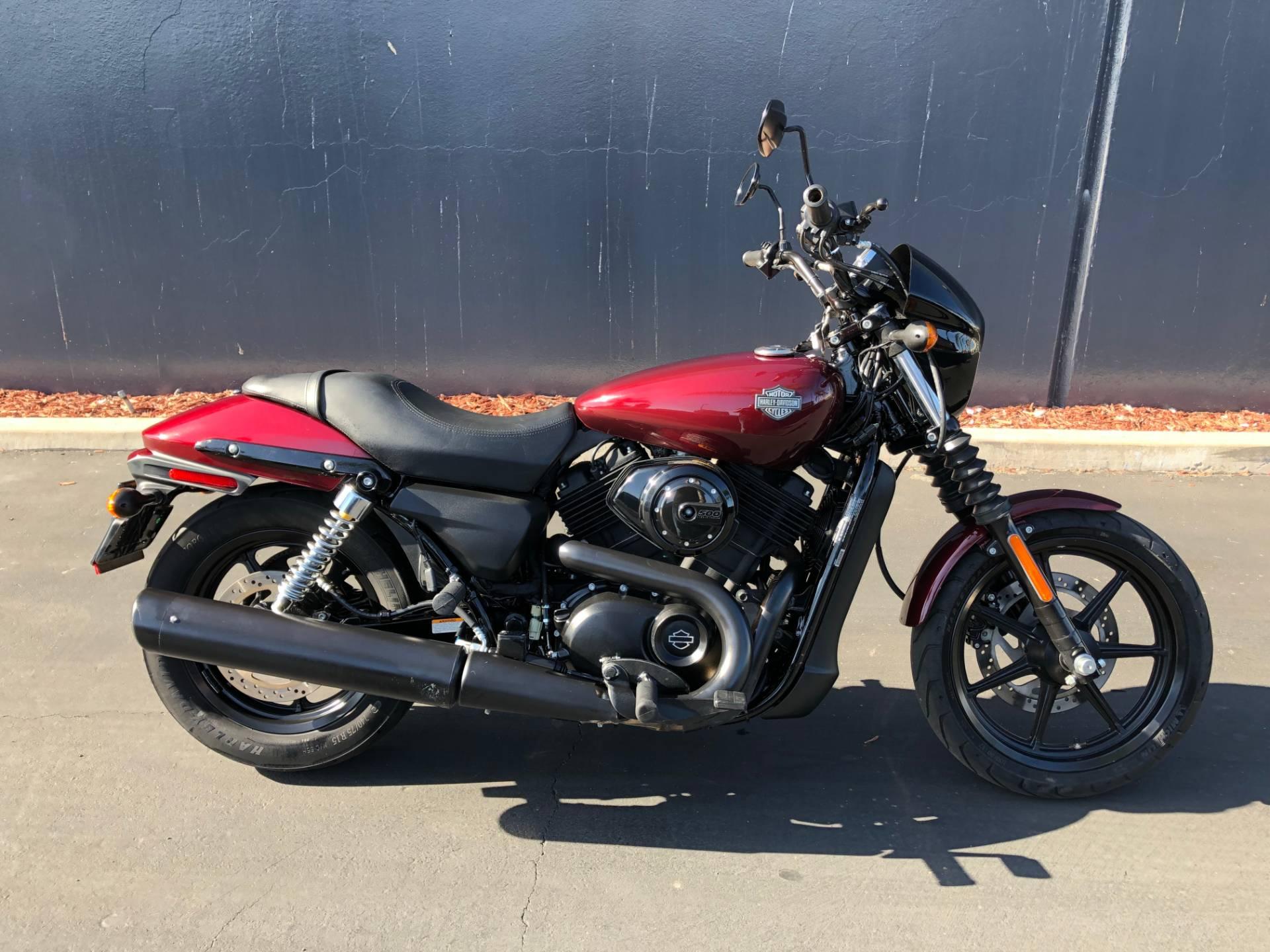 Harley Street 500 >> Used 2015 Harley Davidson Street 500 Motorcycles In Chula Vista