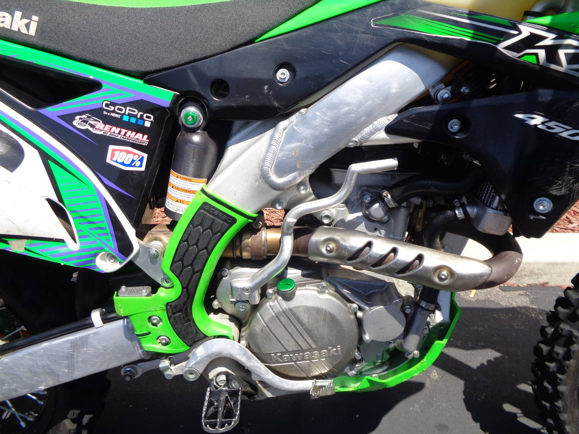 2015 Kawasaki KX™450F in Chula Vista, California - Photo 7