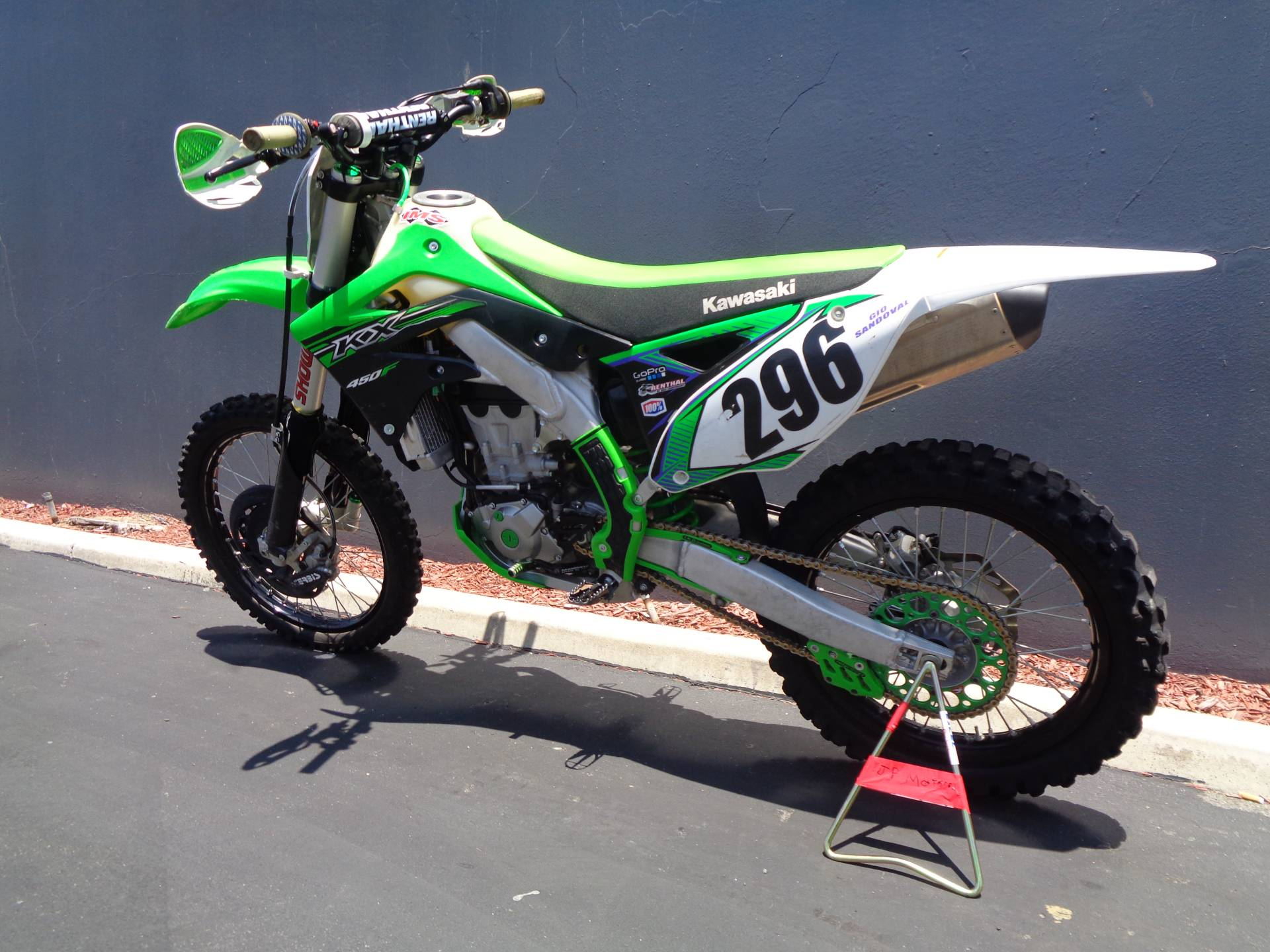 2015 Kawasaki KX™450F in Chula Vista, California - Photo 12