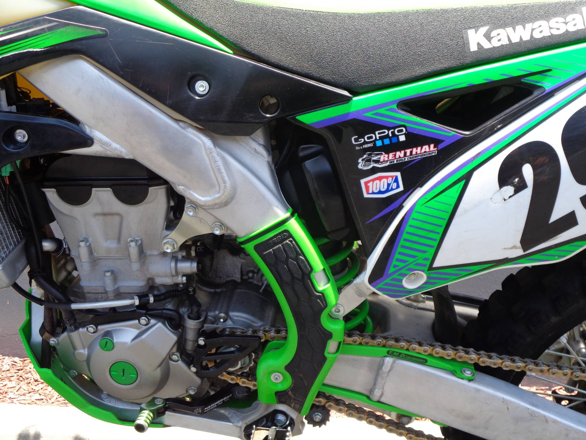 2015 Kawasaki KX™450F in Chula Vista, California - Photo 15