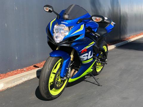 2017 Suzuki GSX-R750 in Chula Vista, California