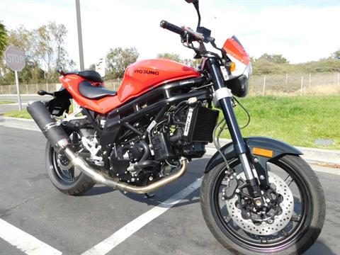 2010 Hyosung GT650 in Chula Vista, California