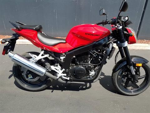2015 Hyosung GT250 in Chula Vista, California