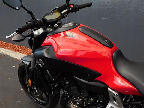 2015 Yamaha FZ-07 in Chula Vista, California