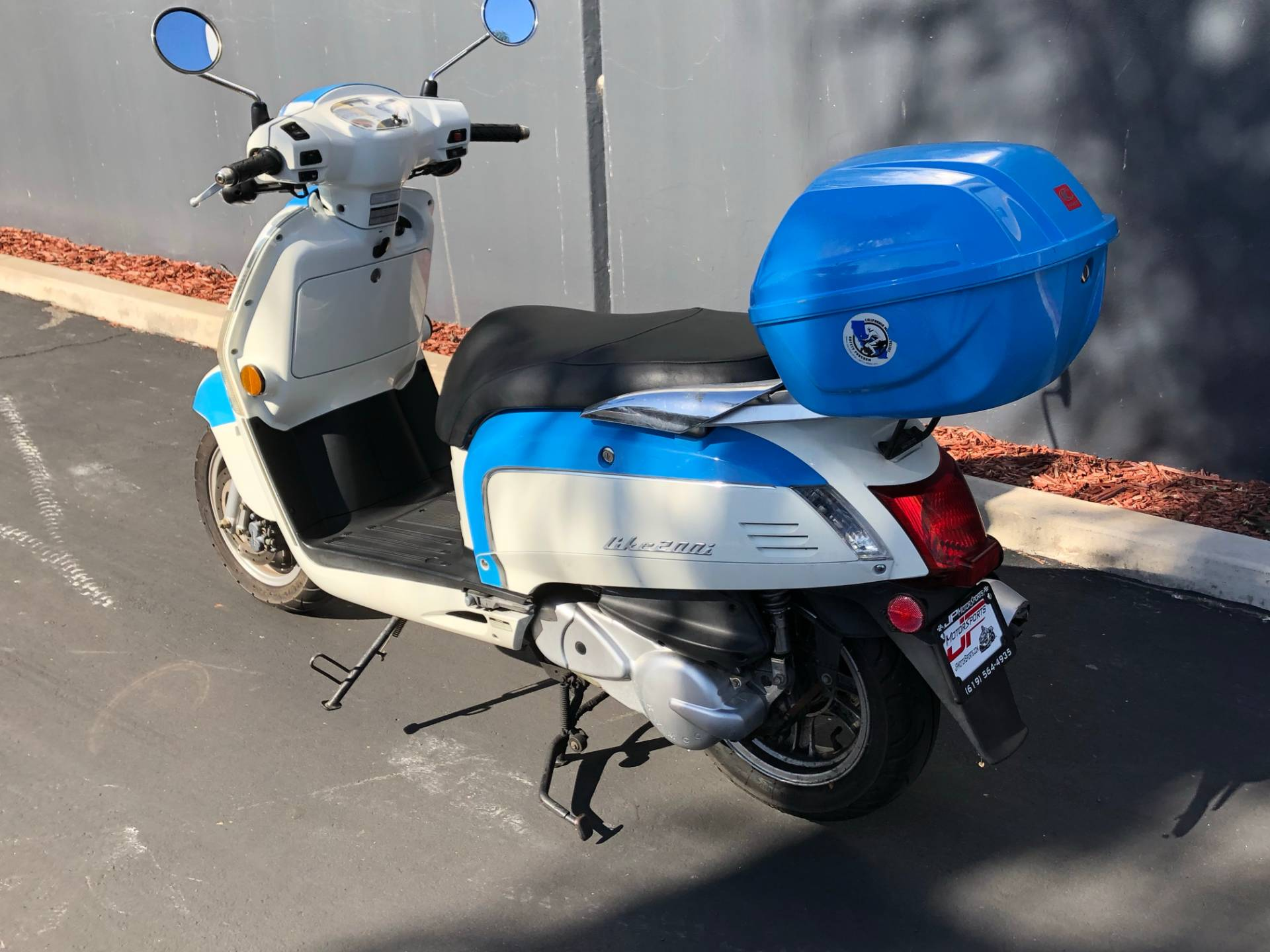 2012 Kymco Like 200i LX in Chula Vista, California