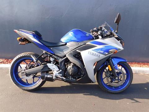 2015 Yamaha YZF-R3 in Chula Vista, California