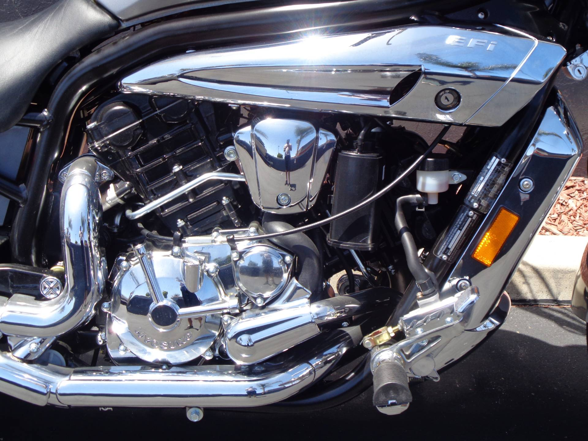 2010 Hyosung GV650 in Chula Vista, California - Photo 7