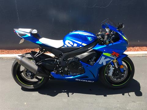 2015 Suzuki GSX-R750 in Chula Vista, California