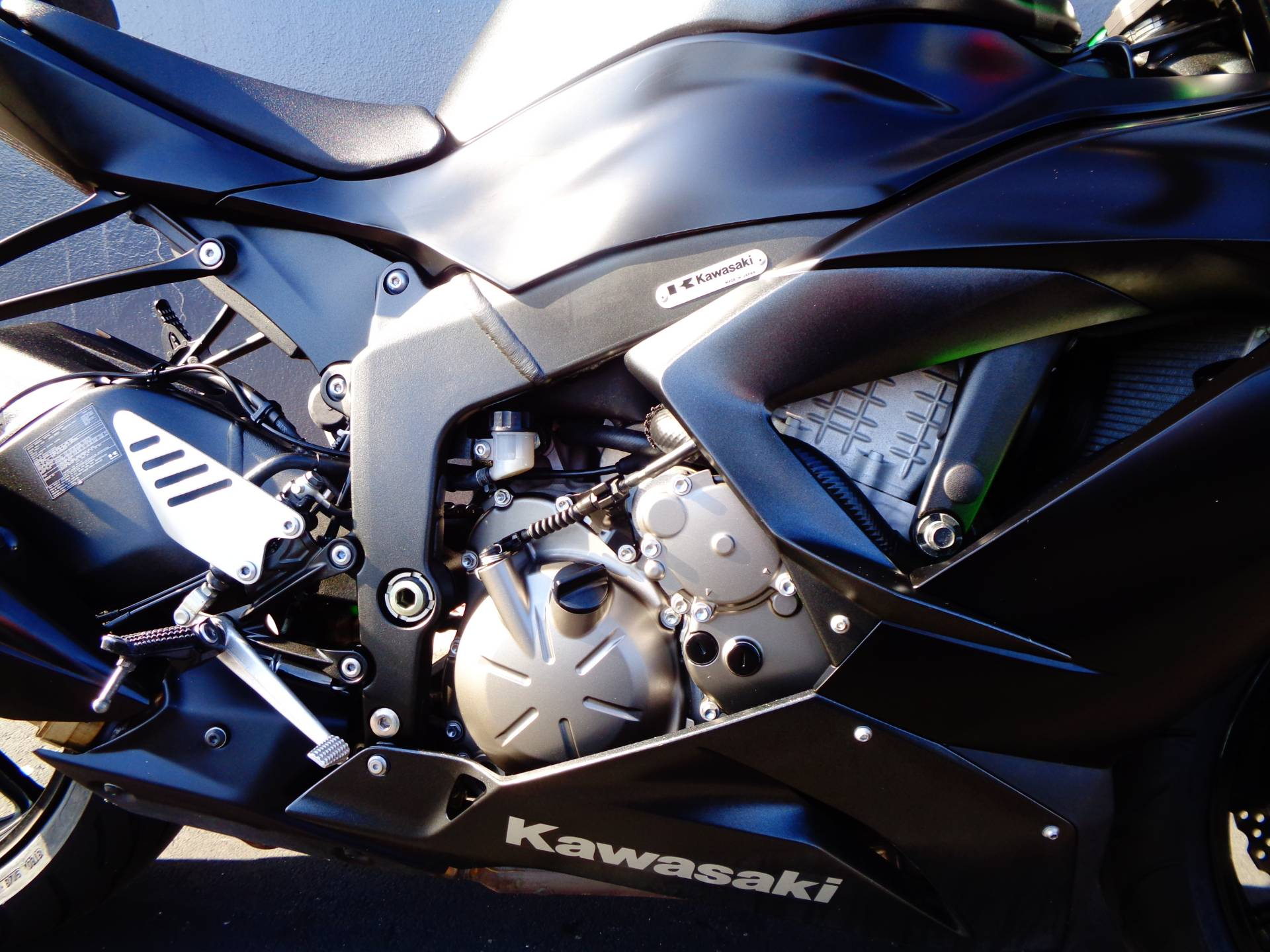2015 Kawasaki Ninja® ZX™-6R ABS in Chula Vista, California - Photo 7