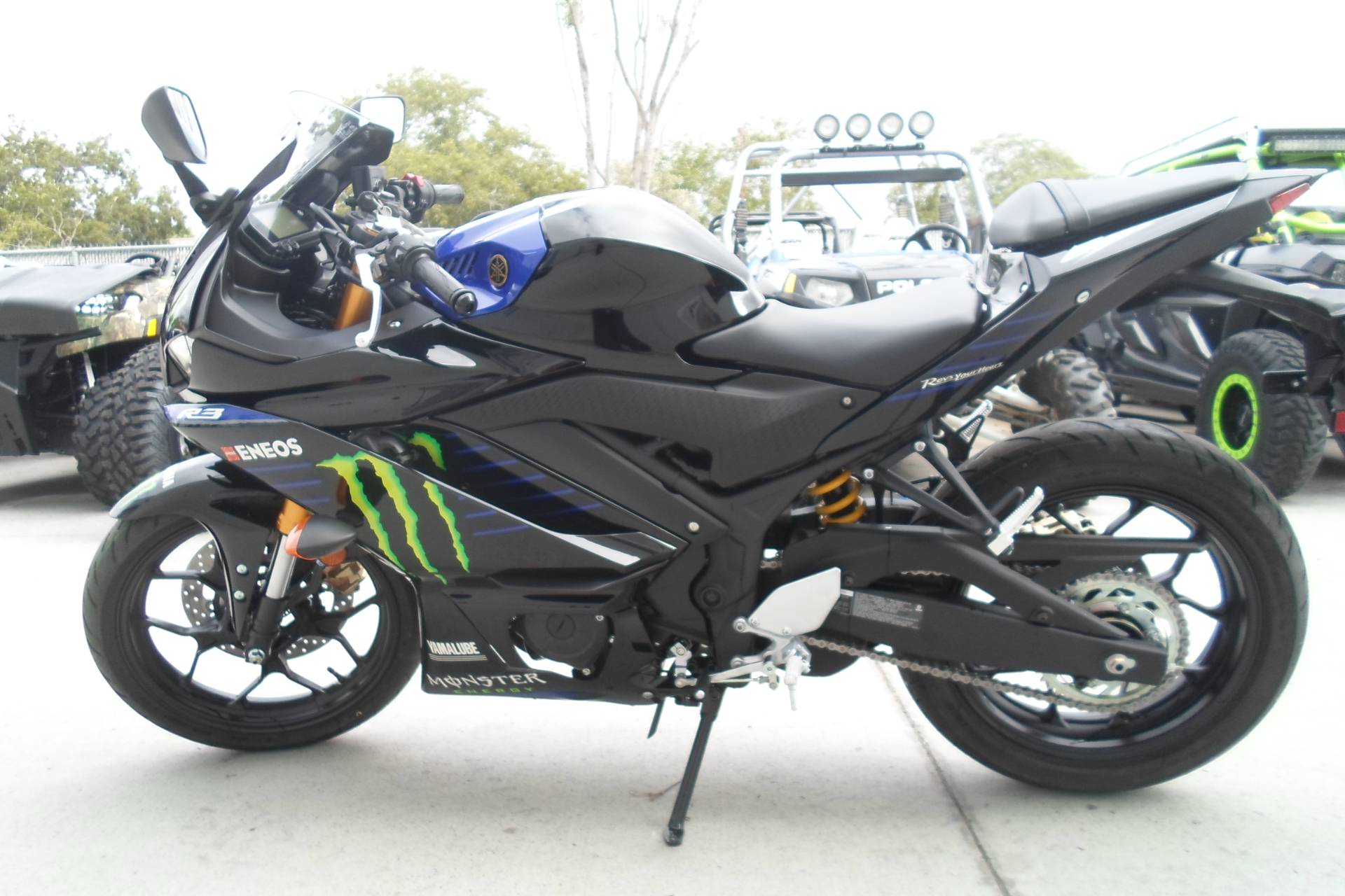 2020 yamaha yzf-r3 abs monster energy yamaha motogp edition.