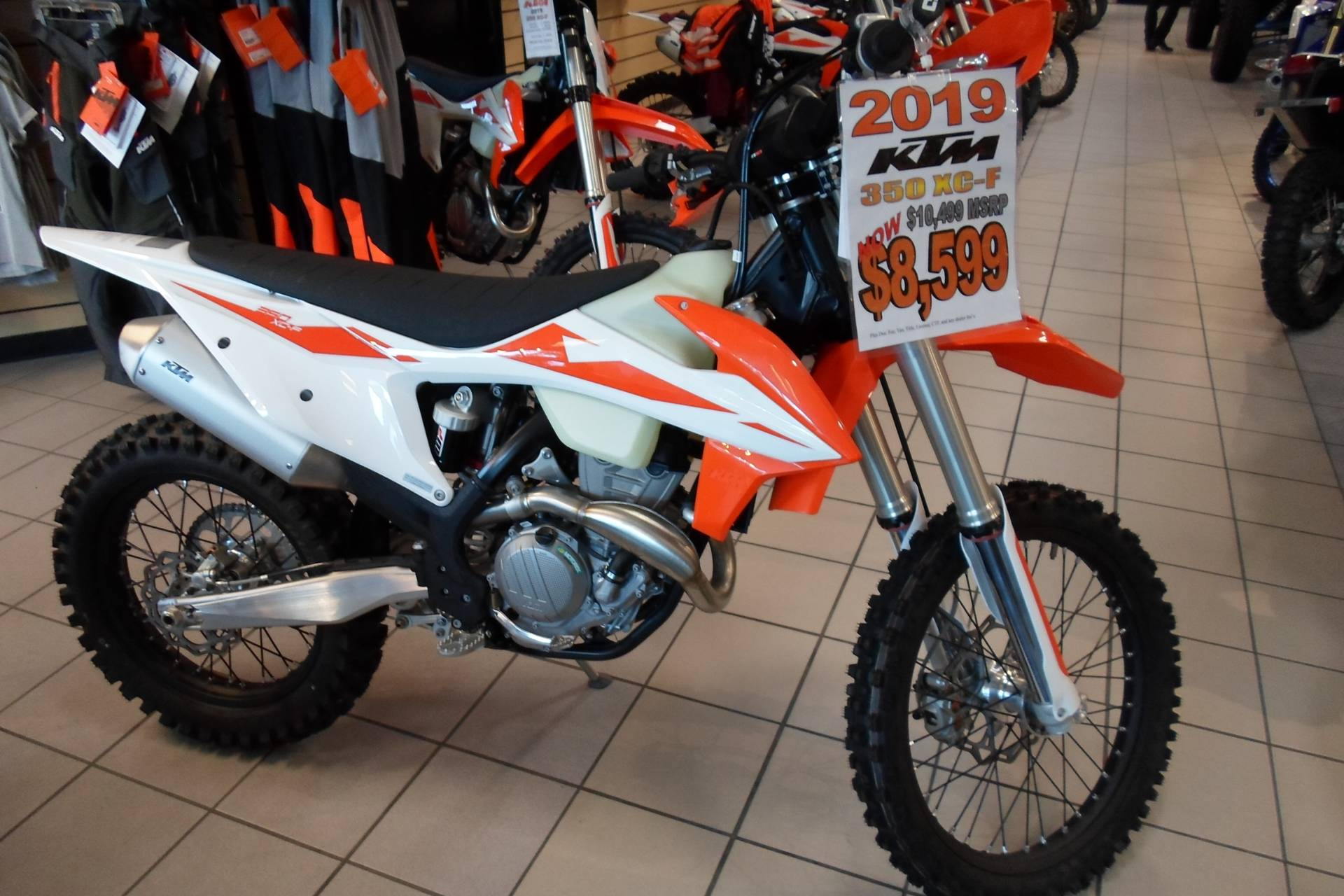 2019 KTM 350 XC-F in San Marcos, California - Photo 3