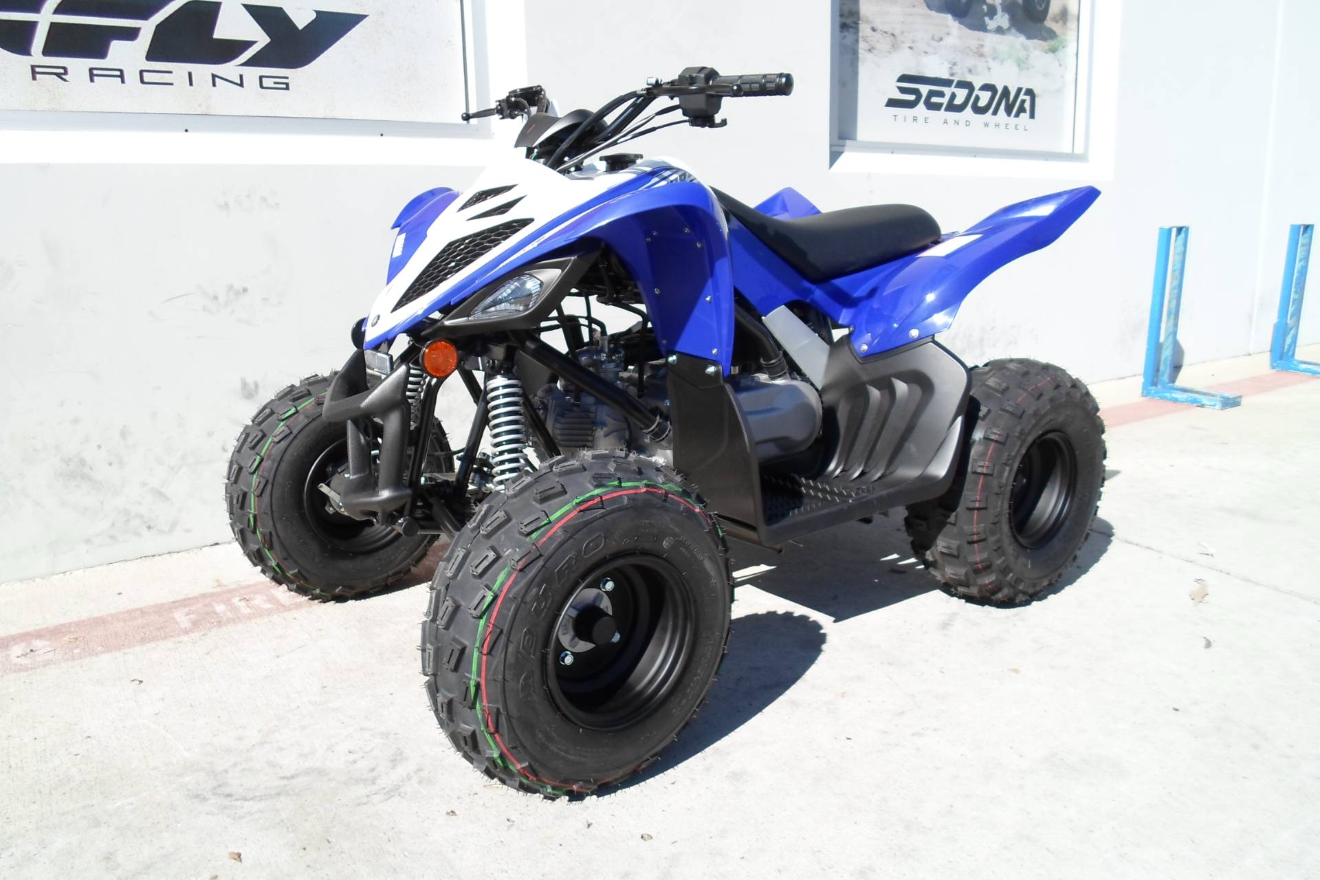 2019 Yamaha Raptor 90 in San Marcos, California - Photo 3
